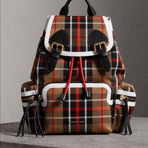 Burberry rucksack vintage backpack